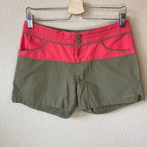 Patagonia Women's Color Block Shorts size 4